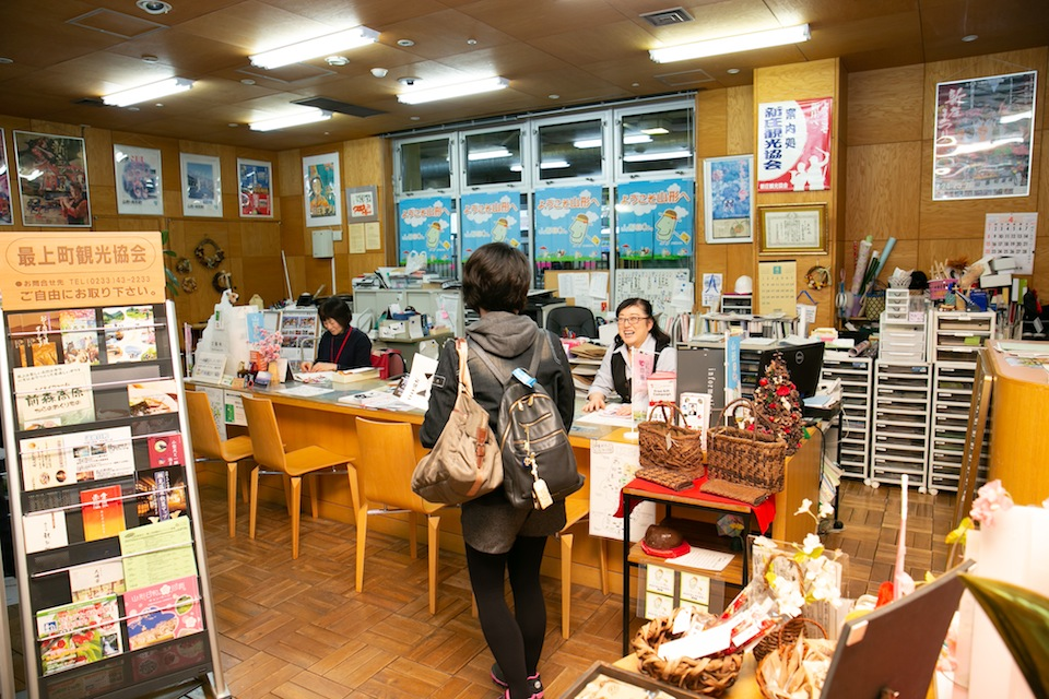 A young Taiwanese lady's trip to Shinjo・Mogami in the spring of 2018.